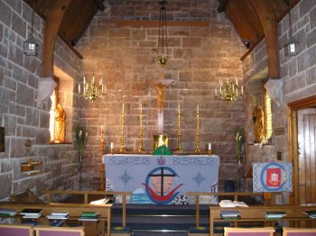 St Columba\'s Chapel, Bishop\'s House Iona