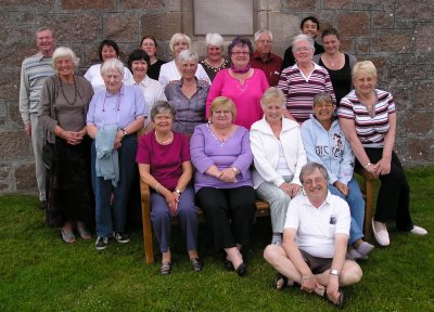 St Mark\'s pilgrimage to Iona 2008 - the group