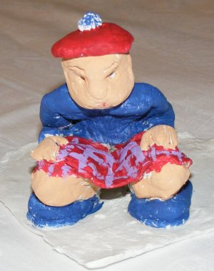 Scottish caganer
