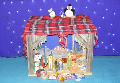 A Scottish Crib scene