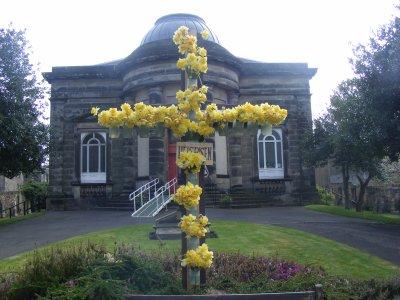 Daffodil Cross at St Mark's