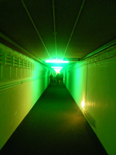 Corridor of the Secret Bunker