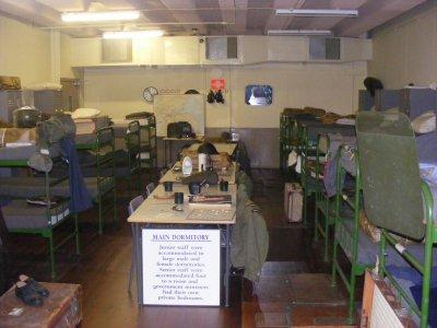 Secret Bunker dormitory