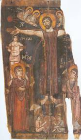 Sinai_8th_Century_Crucifixion_Icon