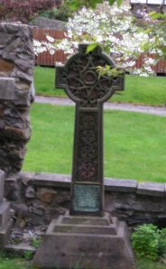 headstone celtic blossom