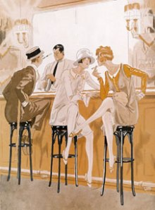 flappers smoking