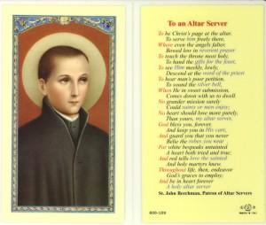 altar server prayer
