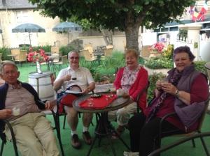 DDay coffee in Bayeux
