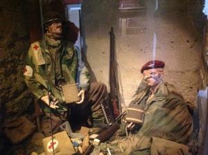 DDay Merville Museum figures