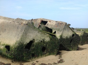 DDay Mulberry harbour remains