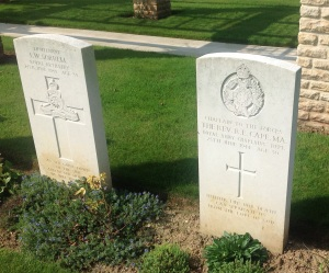 DDay Ranville chaplain headstone