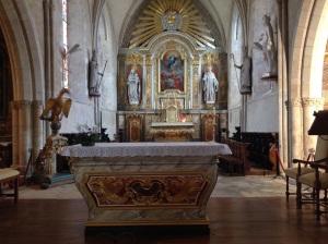 DDay St Mere Eglise altar