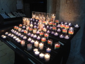 DDay St Mere Eglise candles