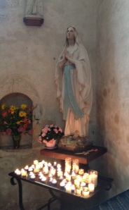DDay St Mere Eglise Mary Candles