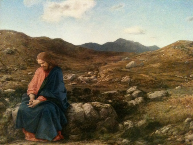 William Dyce Christ as the man of sorrows
