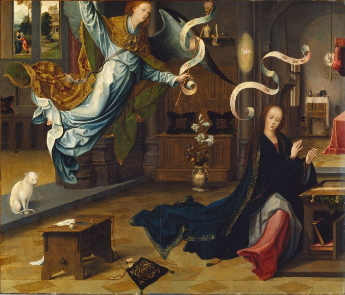 Annunciation Jan de Beer