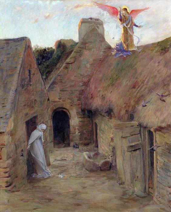 Annunciation Luc Oliver Merson