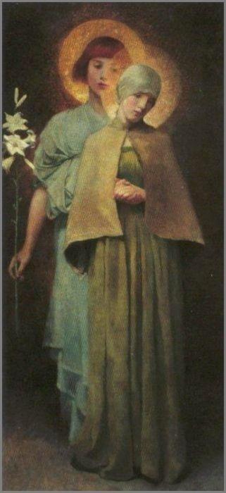 Annunciation Marianne Stokes 1900
