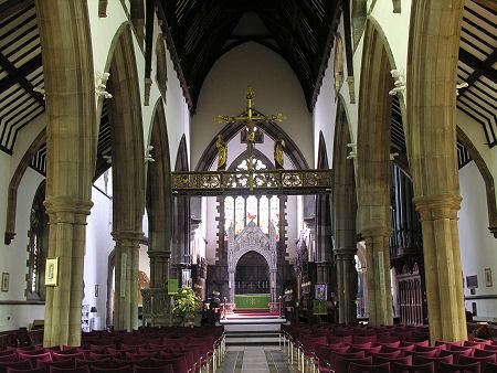 St Ninians cathedral interior
